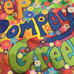 Keep Pompey Green campaign page for Southsea Green link to artwork for 2016