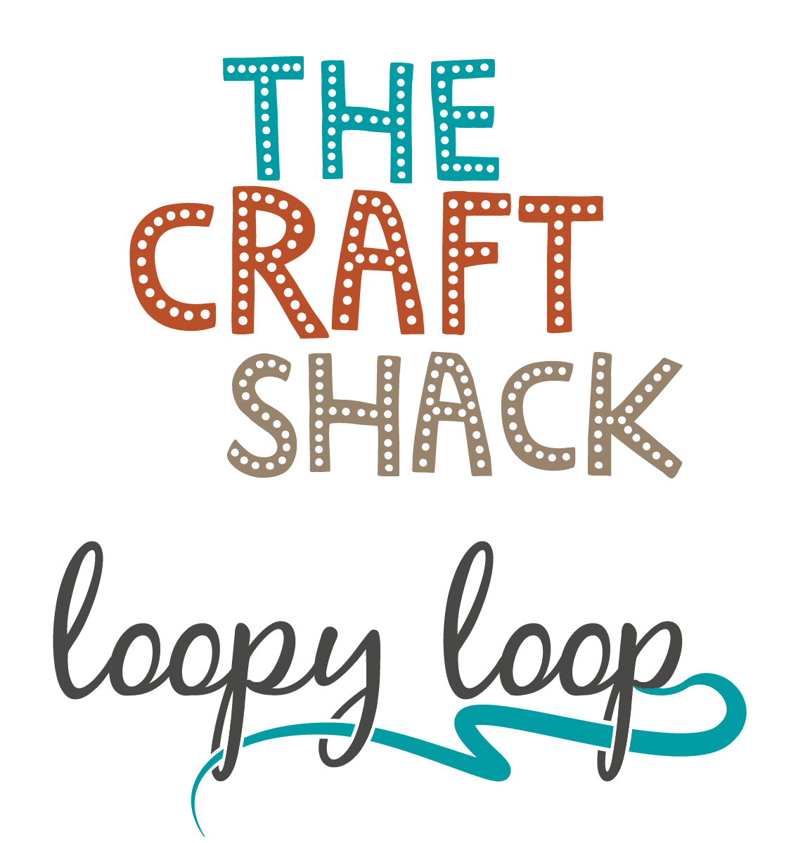 Logo of Loopy Loops ~ The Craft Shack