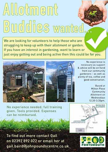 Poster of Allotment Buddies from Food Portsmouth