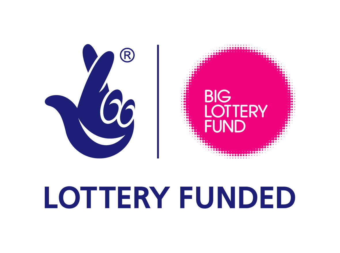 Big lottery fund logo and link to website